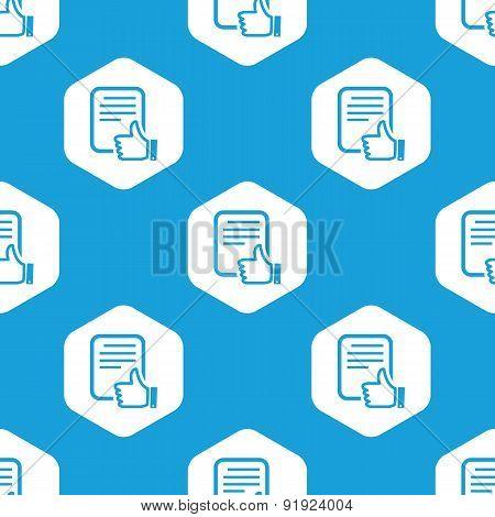 Good document hexagon pattern