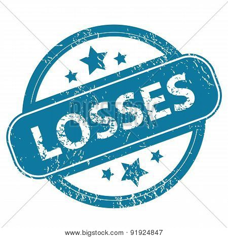 LOSSES round stamp