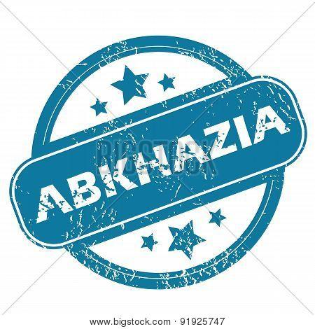ABKHAZIA round stamp