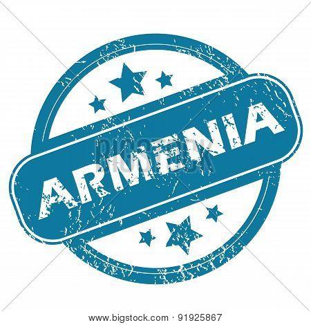 ARMENIA round stamp