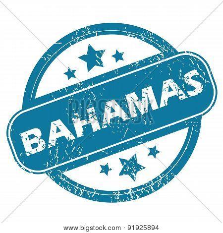 BAHAMAS round stamp