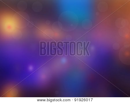 Abstract Background Lights  City