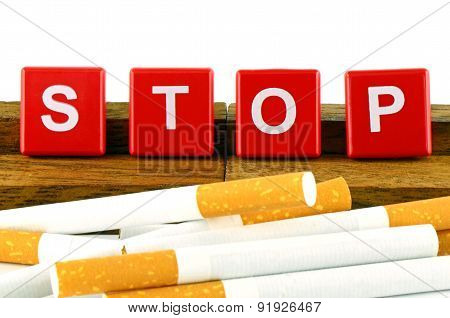 Quit Smoking Concept.