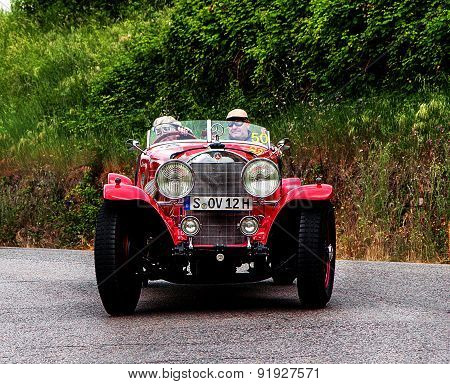 old car MERCEDES BENZ 710 SS 1930  mille miglia 2015