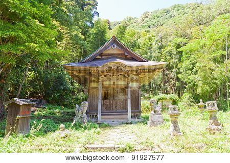 Toyosaka Shrine Of Iwami Ginzan, Omori, Japan