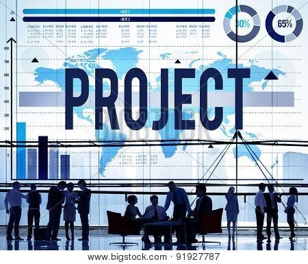 Project Plan Program Activity Solution Strategy Concept