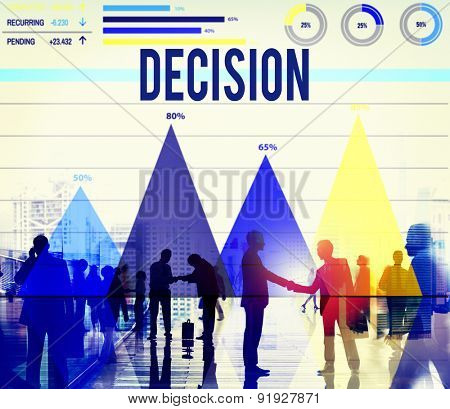 Decision Choice Chance Change Development Concept