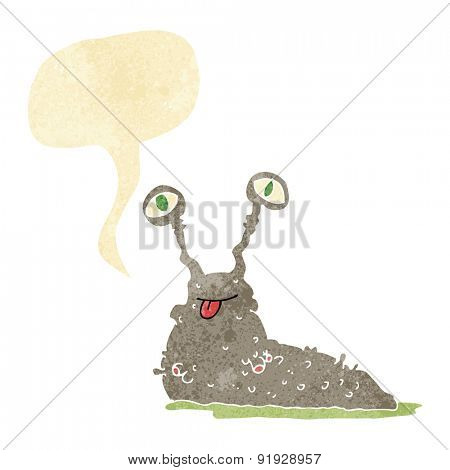 cartoon slug