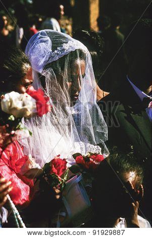 Coptic Woman Marries In Gondar, Ethiopia
