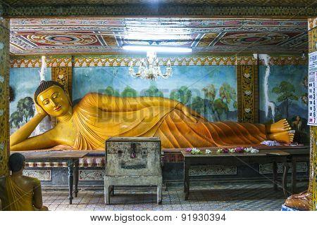 Lying Buddha In Mihintale