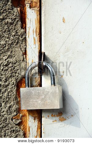 lock on the door