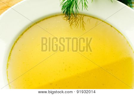 Chicken Stock, Bouillon, Broth, Clear Soup.