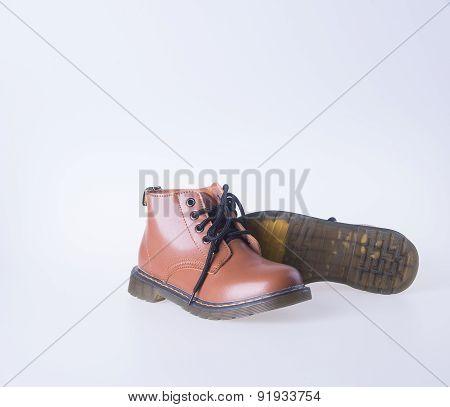 Shoe. Woman Shoe On Background. Woman Shoe On A Background.