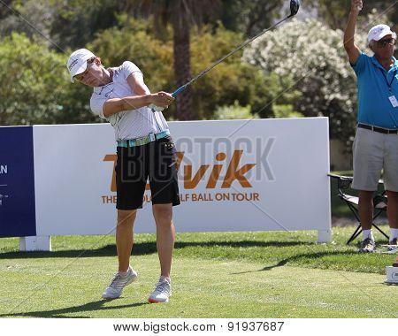 Catriona Matthew At The Ana Inspiration Golf Tournament 2015