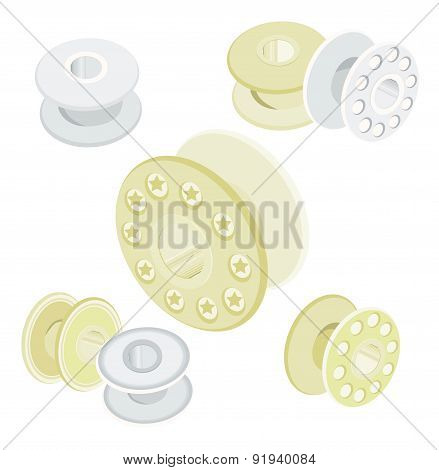 Set Of Spool