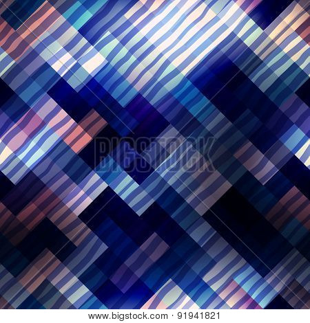 Abstract diagonal geometric pattern