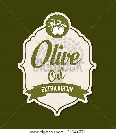 Olives design over green background vector illustration