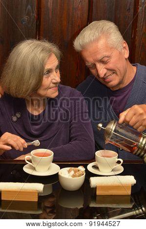 beautiful older couple