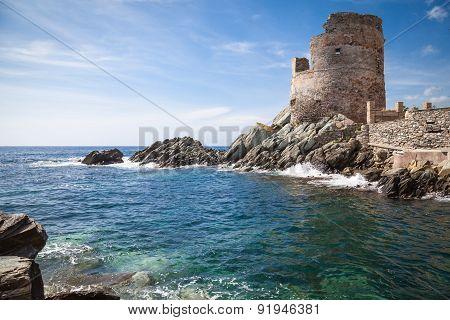 Genoese Watchtower in Corsica
