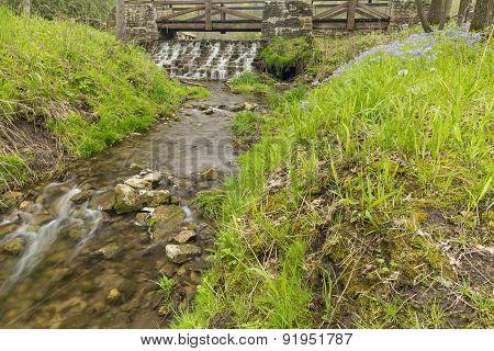 Footbridge & Dam Scenic