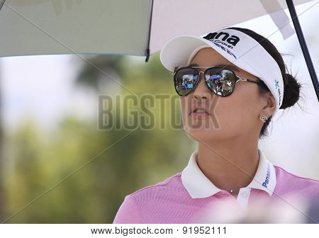 So Yeon Ryu At The Ana Inspiration Golf Tournament 2015
