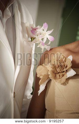 Bridal Couple On The Wedding Ceremony