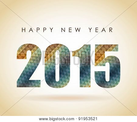 New year design over background vector illustration