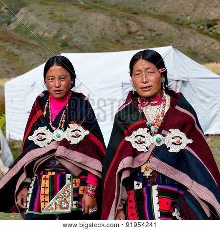 Tibetan Woman, Nepal
