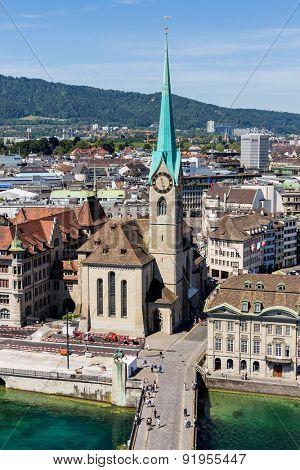 switzerland, zurich, view of the city