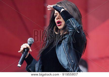 R&b Singer Bianka