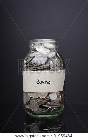 Saving - Financial Concept