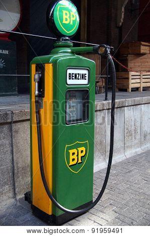 Vintage BP Fuel Pump - Benzine / Gas / Diesel / Gasoline / patrol