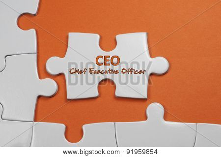 Ceo Text - Business Concept