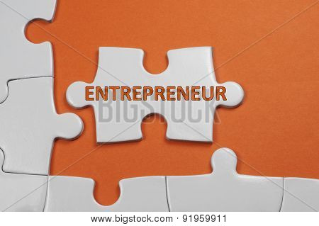Entrepreneur Text - Business Concept
