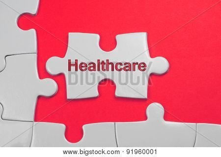 Healthcare Text - Business Concept