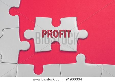 Profit Text - Business Concept