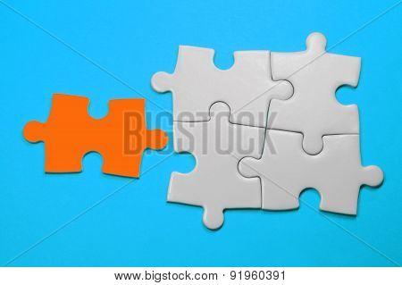 Puzzle - Leadership Concept