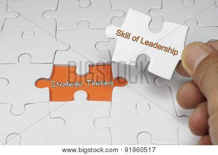 Strategic Thinking - Leadership Concept