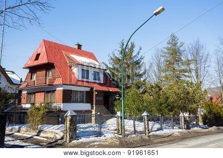 Residential House In Zakopane In Poland