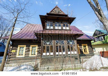 Residential House, Wooden Villa, Zakopane