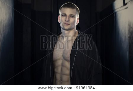 Young Sporty Man