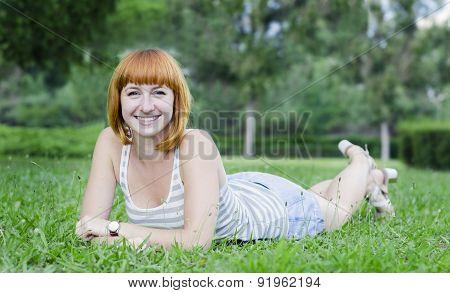 Cheerful Young Girl