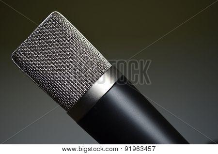steel mesh microphone