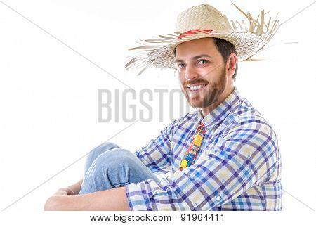 Man wearing