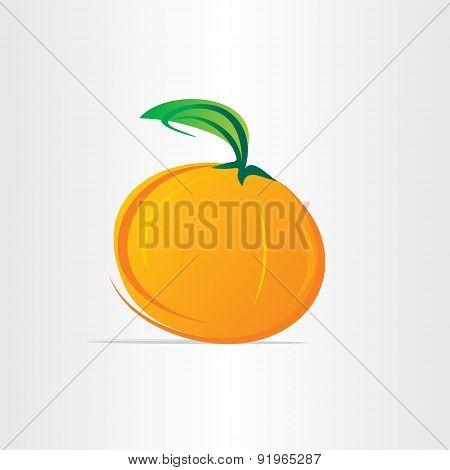 Orange Fruit Juice Vector Design