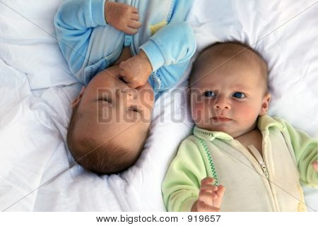 Baby Boys Twin Brothers