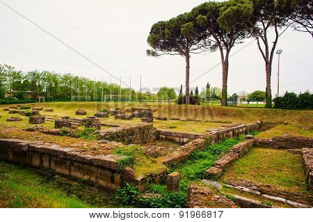 Archeological Area Of Aquileia