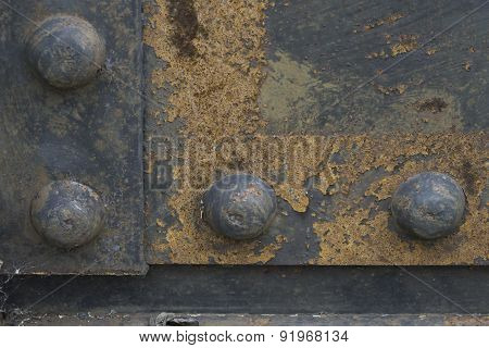 Rusty Iron Rivets