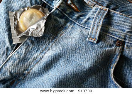 Kondom-Jeans
