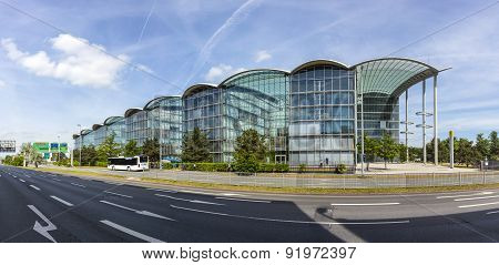 Lufthansa Headquarter In Frankfurt, Germany